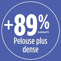 Une pelouse 89% plus dense avec PRO-MIX SEMENCES À GAZON ANTI-INSECTES