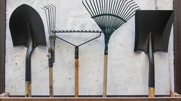Some useful garden tools