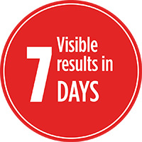 Results visible in 7 days