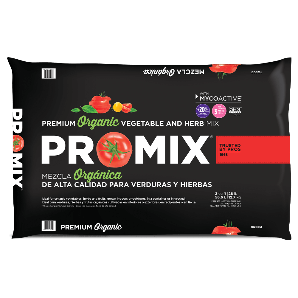 PRO-MIX Organic Vegetable & Herb Mix 2 cu
