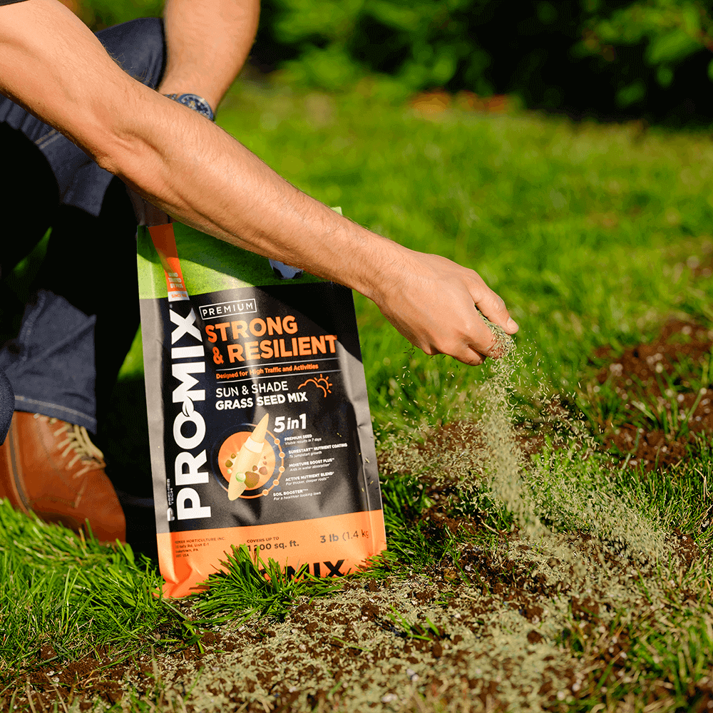 PRO-MIX Strong & Resilient Sun & Shade Grass Seed Mix
