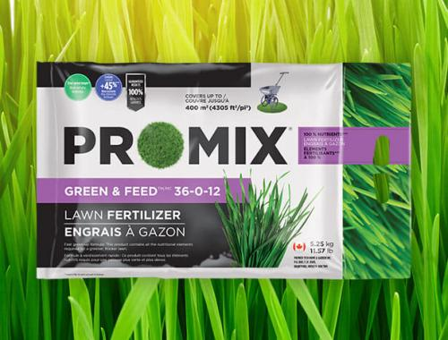 PRO-MIX GREEN & FEED LAWN FERTILIZER 36-0-12