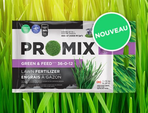 PRO-MIX ENGRAIS À GAZON GREEN & FEED 36-0-12