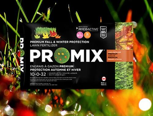 ENGRAIS À GAZON PRO-MIX POUR PROTECTION HIVERNALE 10-0-32