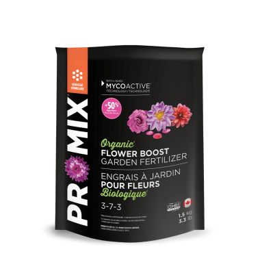PRO-MIX Organic Garden Fertilizer Flower Boost 3-7-3