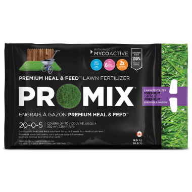 "PRO-MIX Engrais à gazon ""Heal & Feed"" 20-0-5"