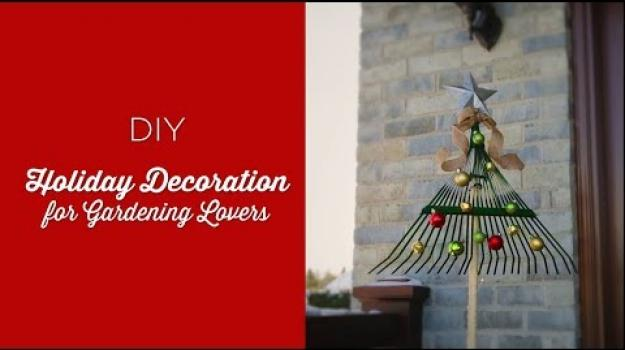 Embedded thumbnail for DIY Holiday Decoration for Gardening Lovers