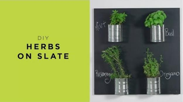 Embedded thumbnail for Herbs on Slate