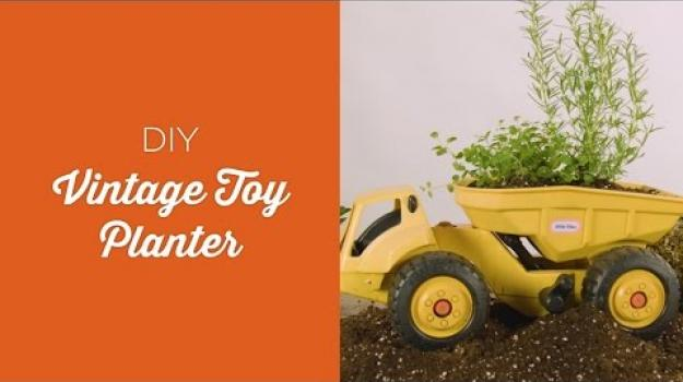 Embedded thumbnail for Vintage toy planter