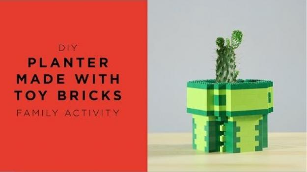 Embedded thumbnail for Planter made with Lego bricks